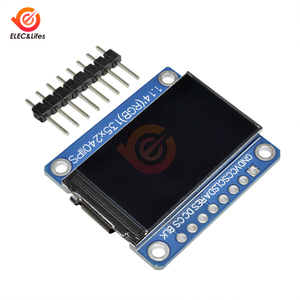 Image 3 - 1.14Inch 135X240 SPI Nối Tiếp TFT Màn Hình Hiển Thị LCD Module ST7789 Ổ IC IPS HD RGB Màn Hình LCD Full quan Điểm 8 Pin 135*240 3.3V SPI Cổng