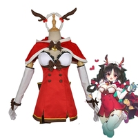 Game Azur Lane Elk Oshio Cosplay Costume Halloween Christmas New Year Elk Winter Set Dress Women