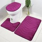 3Pcs/set Bathroom Ma...