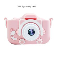 Cartoon Anti-fall Mini Children Camera Front And Rear Double Digital
