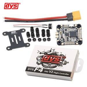 Image 1 - Система управления полетом DYS F4 PRO V2 Betaflight с 5 В/3 А 9 В/1,2 А, интегрированная защитная схема BEC, бортовой плоский кабель OSD