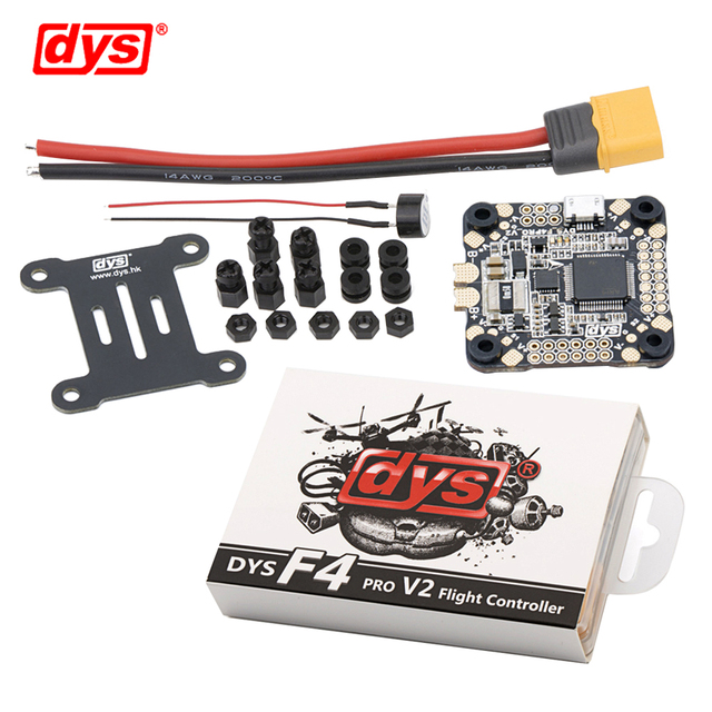 Система управления полетом DYS F4 PRO V2 Betaflight с 5 В/3 А 9 В/1,2 А, интегрированная защитная схема BEC, бортовой плоский кабель OSD