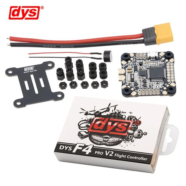 DYS טיסה שליטה F4 פרו V2 Betaflight עם 5V/3A 9V/1.2A BEC intergrated מעגל הגנה על לוח OSD שטוח כבל חיבור