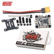 Dys Điều Khiển Bay F4 Pro V2 Betaflight Với 5V/3A 9V/1.2A Bec Intergrated Mạch Bảo Vệ trên Tàu OSD Phẳng Cáp Kết Nối