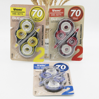 8274 Kawaii White Out Corrector Correction Tape Promotional Gift Stationery School Office Supply