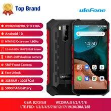 Ulefone Rüstung X5 IP68/IP69K Robuste Android 10,0 Stoßfest Smartphone 5000mAh Octa Core 5.5 ''OTG NFC 3GB 32GB 4G LTE Handy