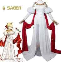 Anime Fate gran orden Saber disfraz de Nero Fgo Saber Cosplay Fate gran orden disfraz Extra de Nero