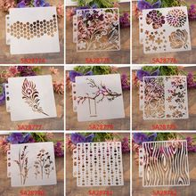 Stencils Template Painting Scrapbooking Embossing Stamping Album Crafts Flower M89A