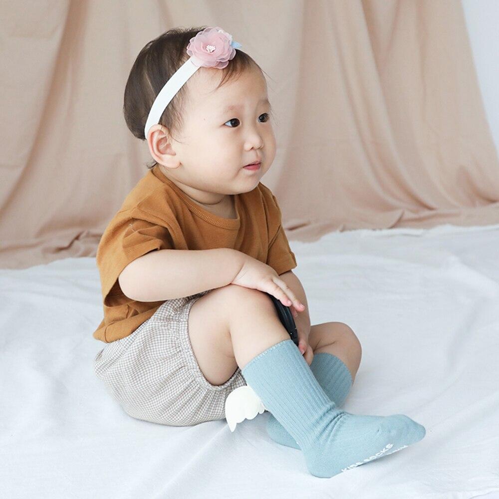 Fashion Baby Angel Wings Design Socks Boys Girls Boys Is Cute Foot Wear Socks For Accessories For Baby Children