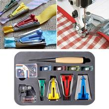 Sewing Machine Accessory Presser Foot Set Sewing Machine Part Durable Practical Multifunctional Professional 11pcs Metal 11pcs sewing machine presser foot foot set of domestic sewing machine multifunctional sewing accessories