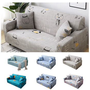 universal sectional slipcover 1 2 3 4 seater spandex sofa cover for living room stretchable sofa cover l shape home decoration Universal Sectional Slipcover 1/2/3/4 Seater Spandex Sofa Cover for Living Room Stretchable Sofa Cover L Shape Home Decoration