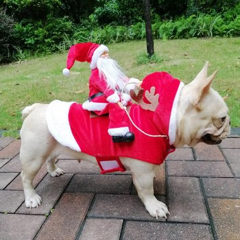 Christmas Dog Costumes Clothes   2