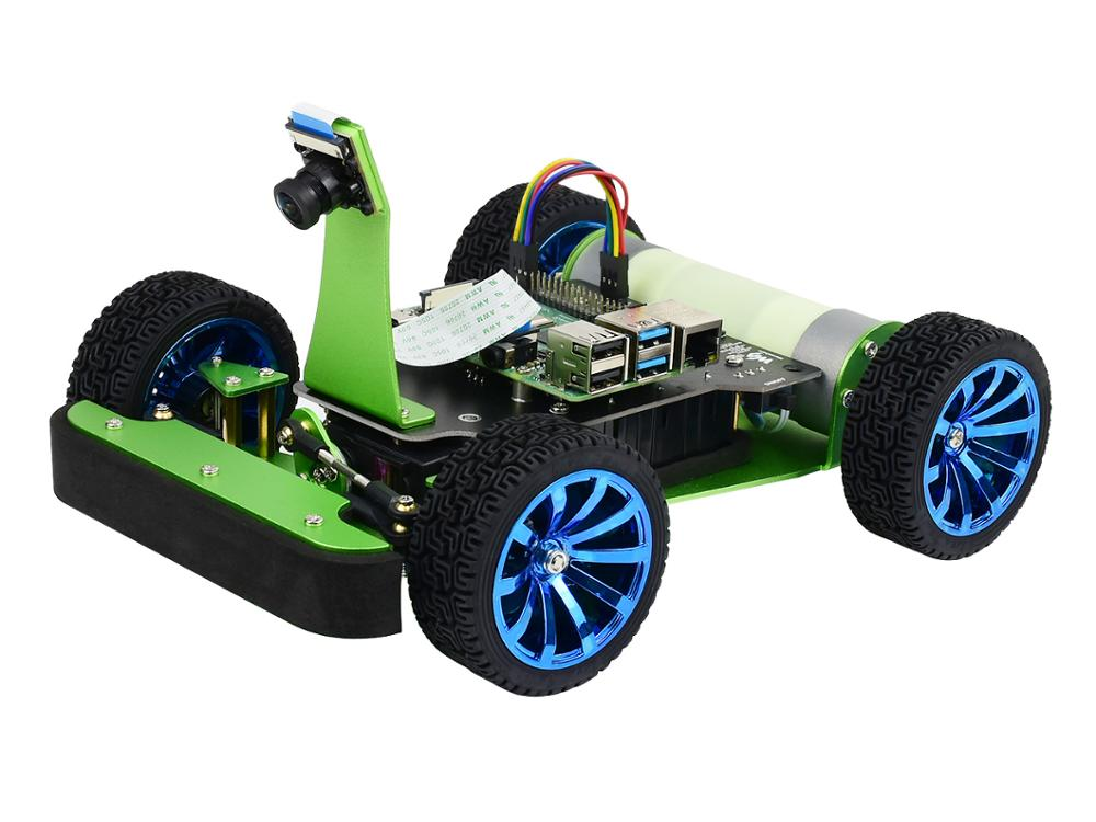 PiRacer DonkeyCar — AI Autonomous Racing Robot Powered By Raspberry Pi 4, Deep Learning, Self Driving