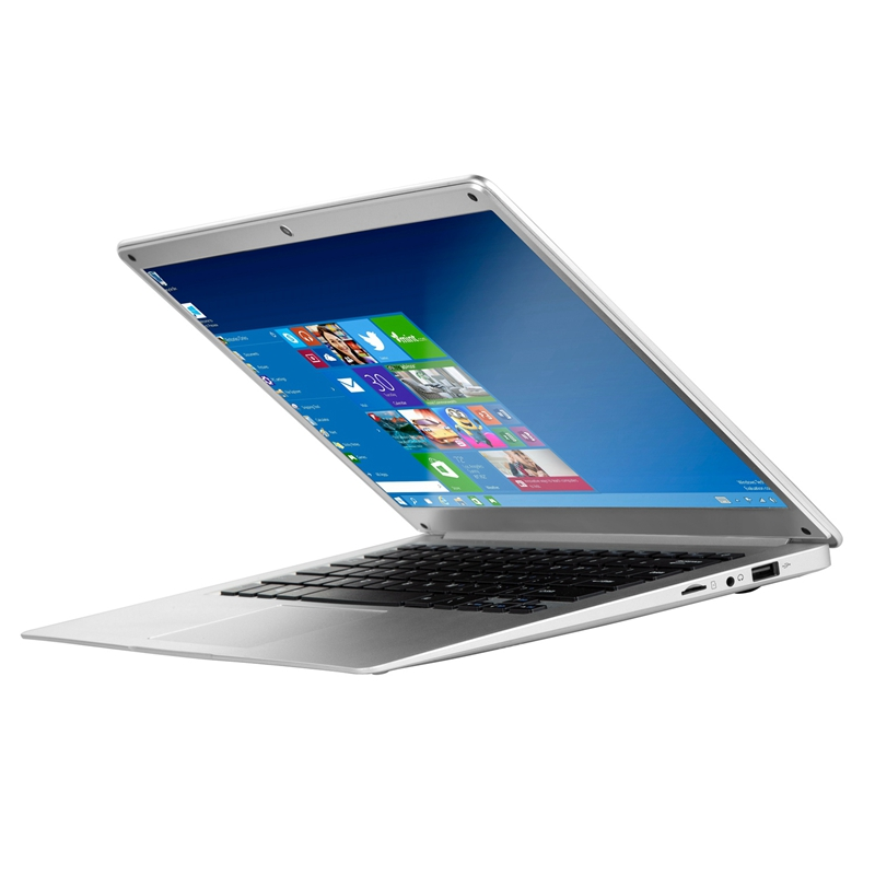 14 Inch 1080P Laptop 4GB RAM 64GB EMMC  Atom Z8350 Quad Core CPU Windows 10 System Notebook Computer(EU Plug)
