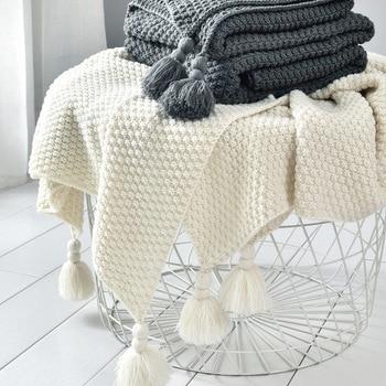 Tassel Throw Blanket