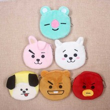 Cute Dog & Koala Animals Coin Purse Mini Children Coin Bags Women Storage Pouch Wallets Kids Coin Purses For Gifts tonuox women wallets cute dogs animal pattern casual lady coin purse pocket handbags long moneybags wallet pouch dog purses bags