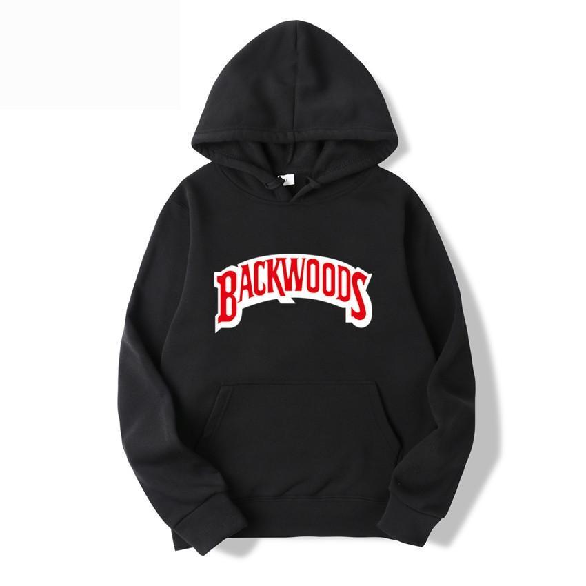 2019 Screw Thread Cuff Hoodies Streetwear Backwoods Hoodie Sweatshirt Men Fashion Autumn Winter Hip Hop Hoodie Pullover Hoody