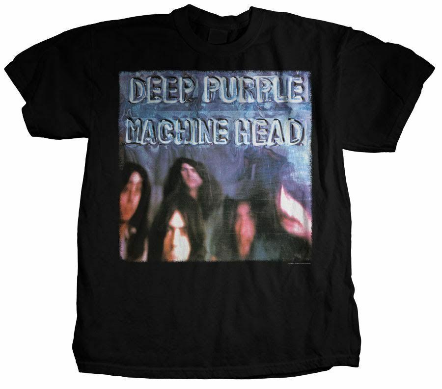 DEEP PURPLE HINE HEAD GUITAR ROCK ROLL MUSIC HEAVY METAL BAND T SHIRT S-2XL