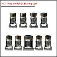 ISO20 ISO25 HSK32 40 50 63 BT30 BT40 ball bearing cutter holder Bearing lock knife seat block Locking device ball lock cutter
