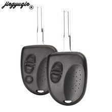 Jingyuqin – boîtier de télécommande à 3 boutons, 10 pièces/lot, coque de clé de voiture, pour Chevrolet Cruze Aveo Holden, marchandise VS VT VX VY VZ WH WK WL