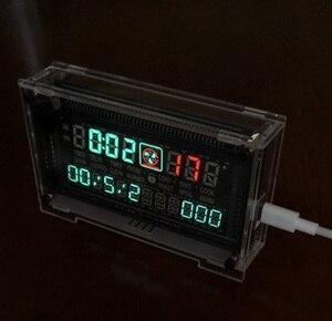 Image 2 - 12 / 24 시간 고정밀 VFD 클럭 전자 시간 RX8025T VFD 디스플레이 시간/분/초/일/주 LED Uhr