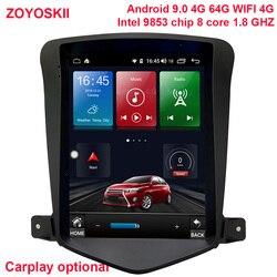 ZOYOSKII Android 9,0 10 inch IPS vetical HD bildschirm auto gps multimedia radio-player für Chevrolet Cruze Daewoo Lacett 2009-2015