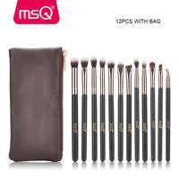 MSQ 12pcs Eyeshadow Makeup Brushes Set pincel maquiagem Rose Gold Concealer Eye Shadow Blending Eyeliner Make Up Brush