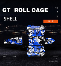 Blue Color GT Roll Cage Body Shells for HPI 5B Baja GT Upgrade Parts RC Cars Spare Part High quality new arrived baja 5b nice alloy wing black color 95141