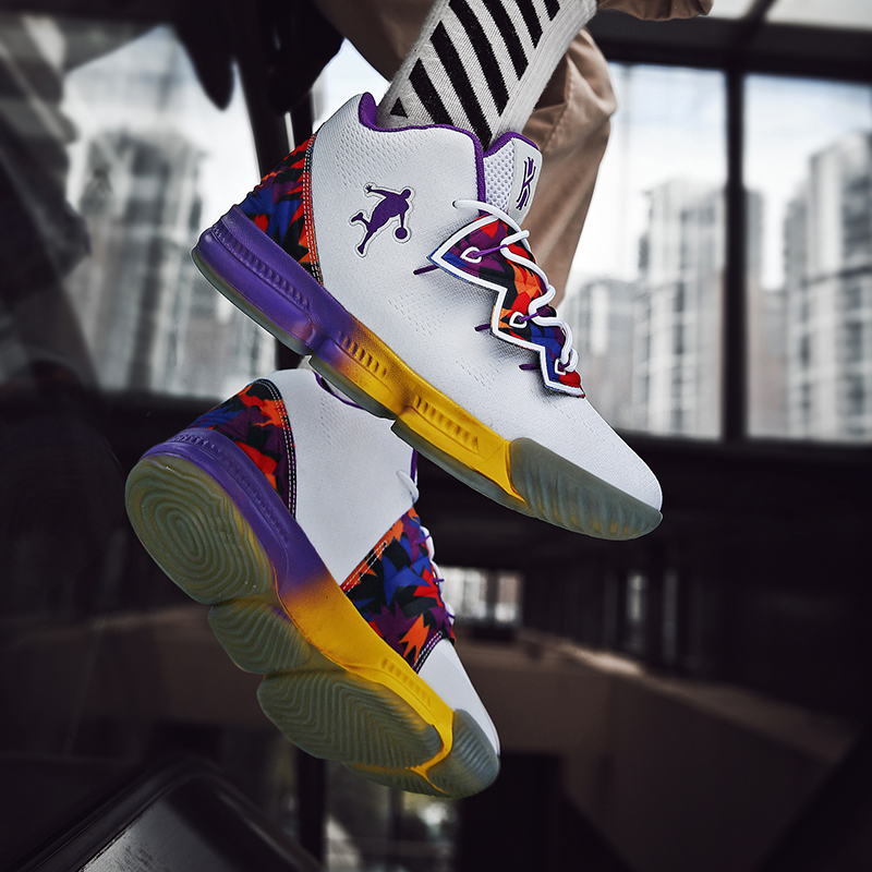 Image 5 - Men Jordan Basketball Shoes Air Cushioning Men's James Basketball Sneakers Lebron Basketball Shoes Combat Boots Outdoor Male New-in Basketball Shoes from Sports & Entertainment