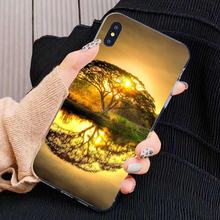 For Huawei G7 G8 P7 P8 P9 P10 P20 P30 Lite Mini Pro P Smart 2017 2018 2019 Natural world The Tree of Life Soft Bag Case(China)