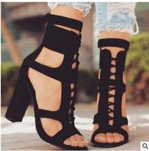 Красивые сандалии с открытым носком