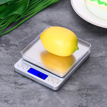 Kitchen-Scale Travel Baking Digital Mini with 2-Tray for Home Lcd-Backlight-Display