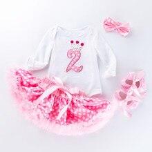 2 года для девочек платье для девочек с юбкой-сеточкой, гофрированное кружевное карнавальное платье Вечерние Свадебное платье с цветочным у...