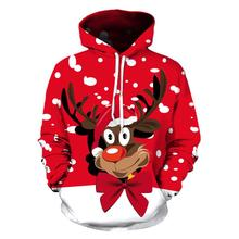 Christmas Snowman 3D Printing Unisex Men Women Santa Claus Christmas Novelty Ugly Christmas