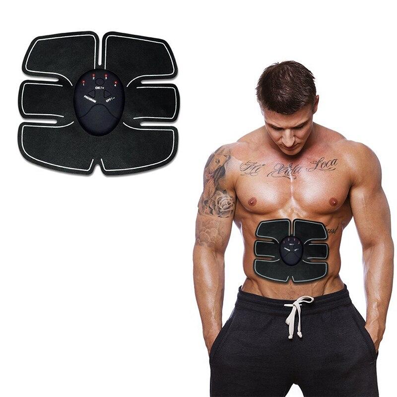 EMS Abdominal Trainer Battery Gym Fitness Abdomen Instrument Muscle Trainer Abdominal Muscle Abdomen Abdominal Paste  9