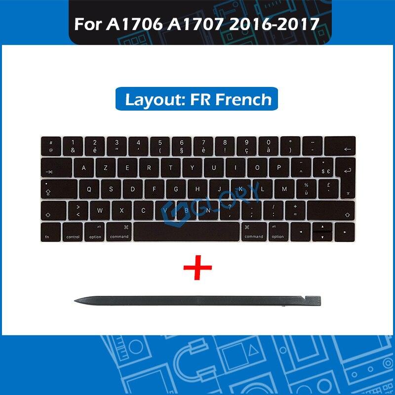 New A1706 A1707 Keycap set FR French Layout For font b Macbook b font Pro Retina