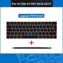 New A1706 A1707 Keycap set FR French Layout For Macbook Pro Retina 13″ 15″ Late 2016 Mid 2017 Key cap keycaps set + Crowbar