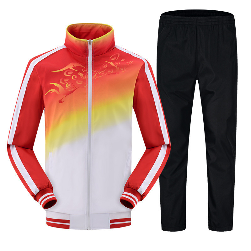 Autumn Sports Set Men's Couples Sportswear Women's Leisure Suit Groups Uniform Running Training Sports Clothing