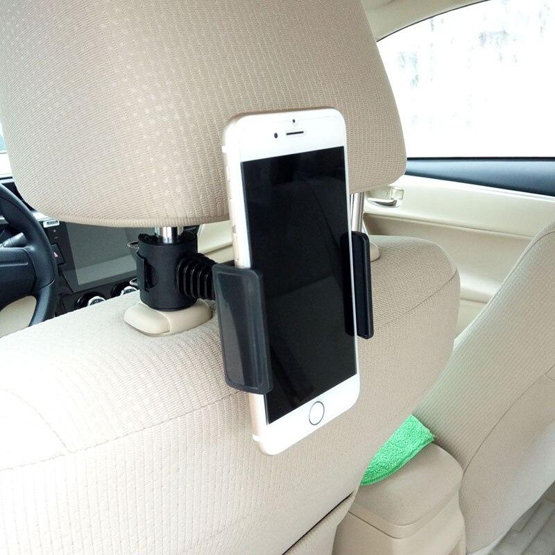 Автомобильный держатель для телефона на подголовник сиденья грузовика держатель для телефона на ленивый кронштейн с поворотом на 360 градус...