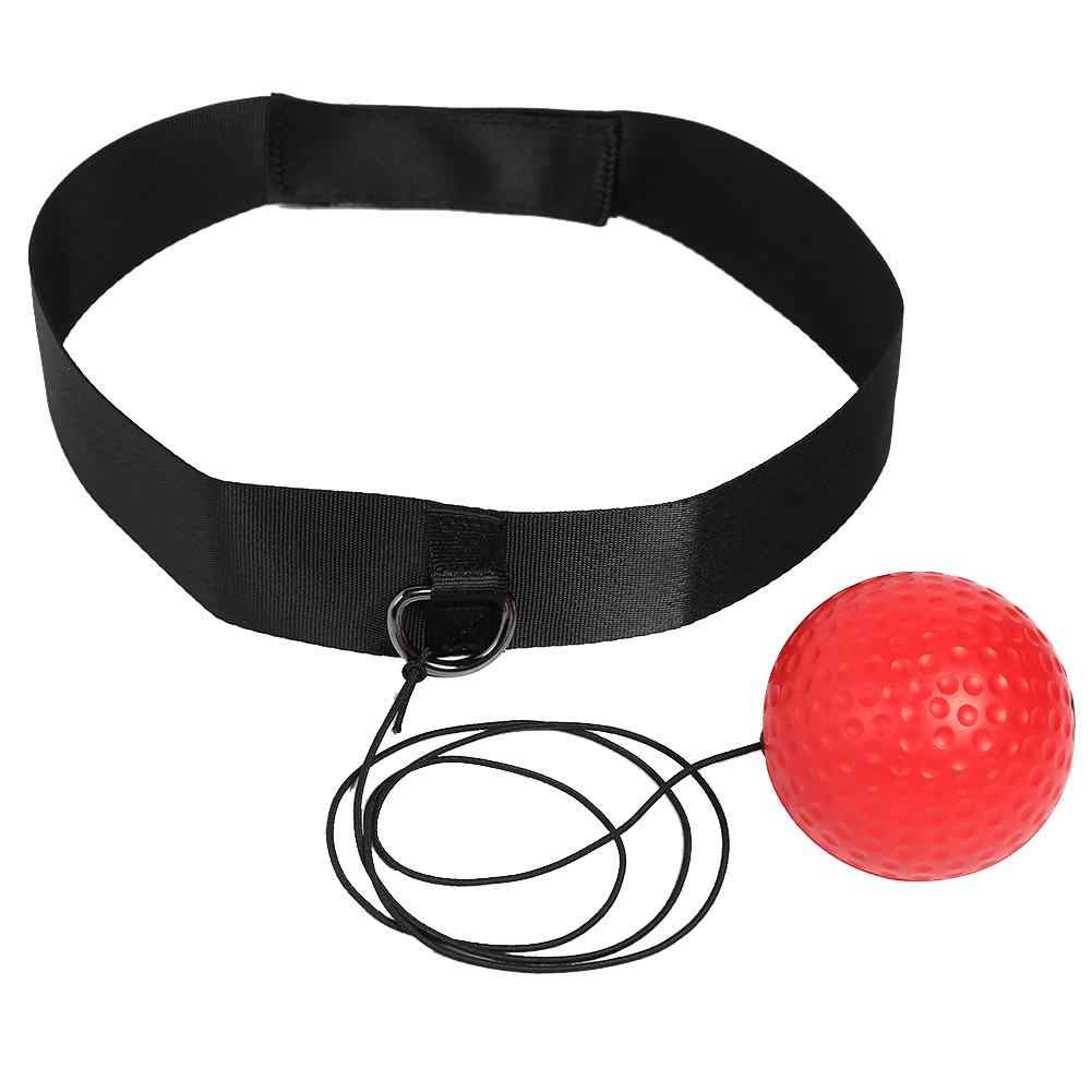 Kick Boxing Reflex Bal Hoofd Band Vechten Speed Training Punch Bal Muay Tai Mma Oefening Apparatuur Accessoires