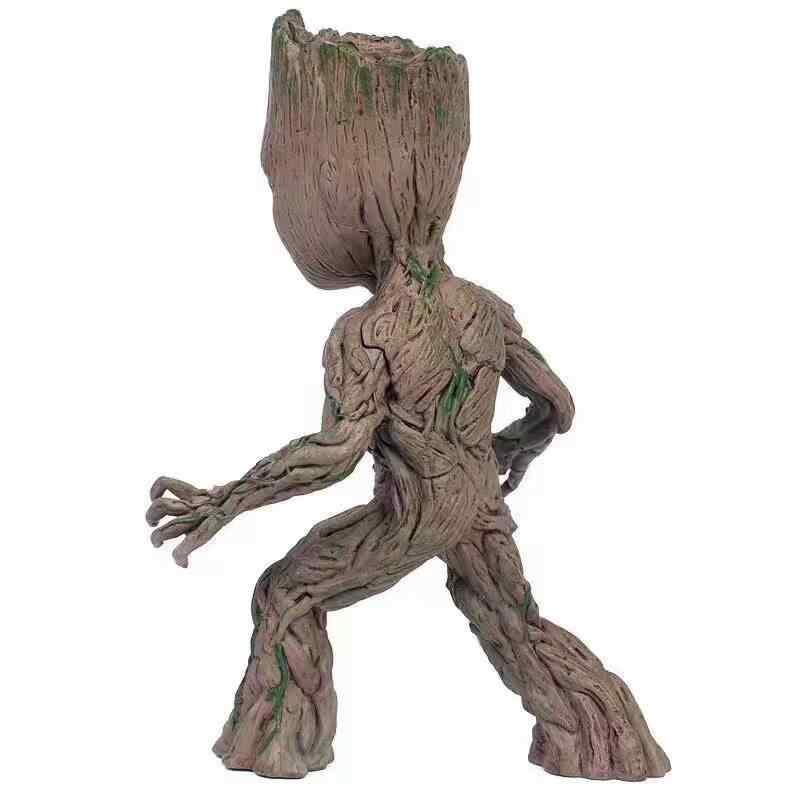 Neca أعجوبة حراس غالاكسي المنتقمون لطيف طفل جروت شجرة رجل المفاصل المنقولة عمل نموذج لجسم اللعب 15 سنتيمتر