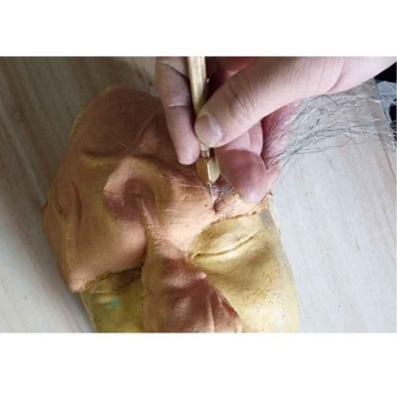 1set DIY Pop Haar Tol Set 0.6/0.8mm Pop Haar Wroeten Reroot Rehair Gereedschaphouder Reproduceren Haar pop Tool