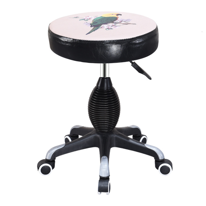 Chuangpin Hebei Place Of Origin Originality Fund Cosmetology Stool Lift Rotating Chair Concise Physical Capacity Stool