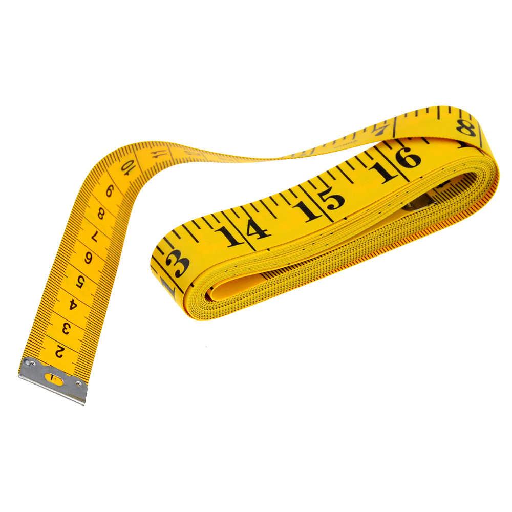 Régua métrica corporal útil, fita métrica para costura, alfaiate, fita métrica macia, 2 m, régua de costura, metro, 1 peça