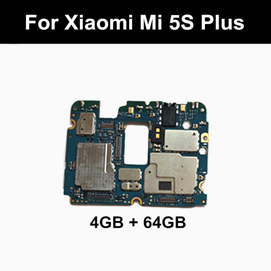 Main-Board with Chips Circuits Flex-Cable for Xiaomi 5S Mi5s M5s-Plus 4GB 64GB 64GB title=