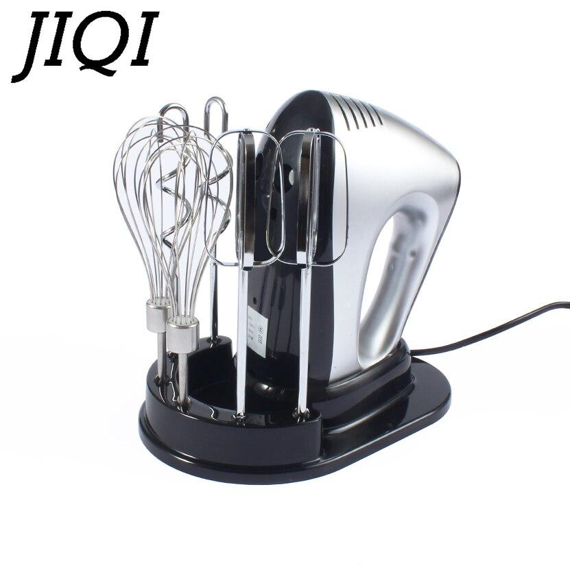 JIQI автоматические многофункциональные бытовые электрические миксеры для теста, ручной миксер для взбивания яиц, венчик, крем для взбивания...