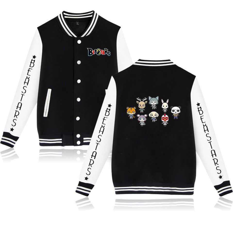 Anime BEASTARS Legosi Louis Men Autumn pullover Loose Thin section Hoodie Coat