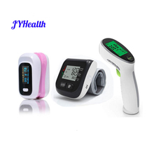 Fingertip Pulse Oximeter oximetro de dedo Wrist Monitor Body Surface Infrared Thermometer Family Health Care medical equipment