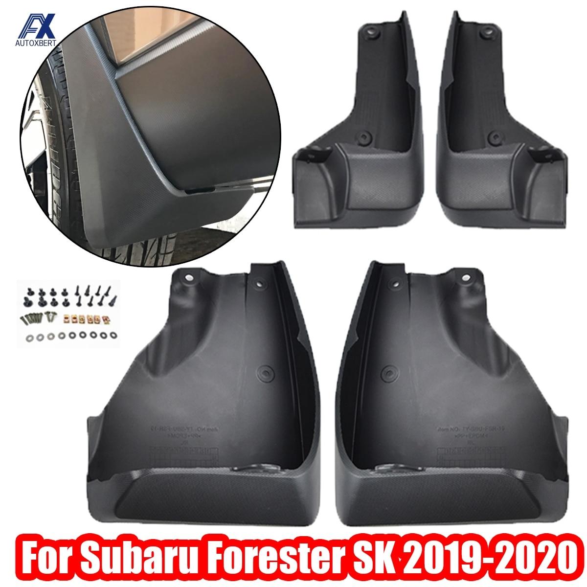 Формованные Брызговики для Subaru Forester SK 2019-на Брызговики щитки Брызговики 2018 2020 OE # J101SSJ000