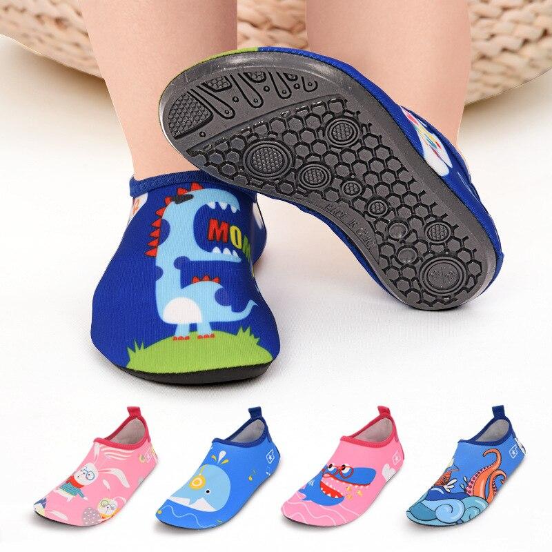 Hausschuhe für Schwimmen Kinder Barfuß Sneaker für Wasser Kinder Aqua Strand Schuhe Non-slip Meer Surfen Schuhe Jungen Mädchen